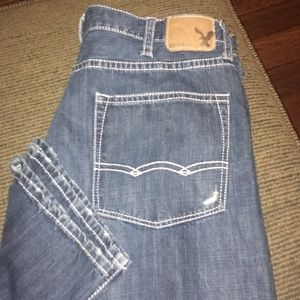 American Eagle relaxed straight men's jeans 38x34